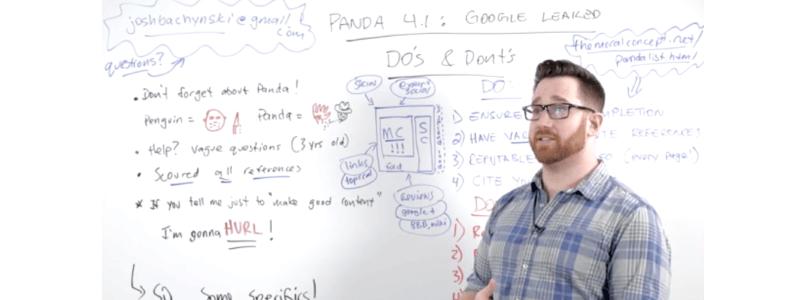 Google Panda - co robić i czego się wystrzegać