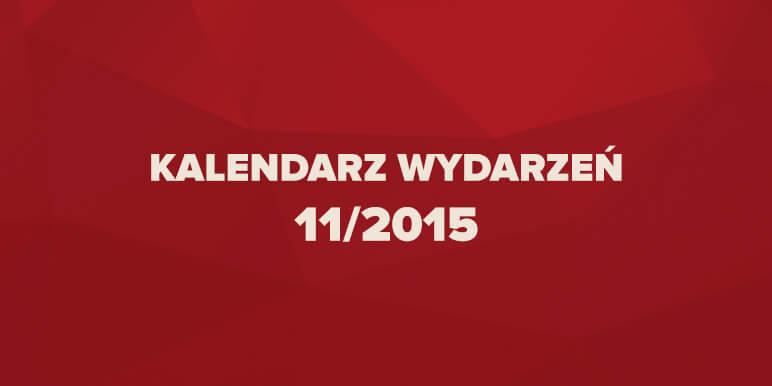 Kalendarz wydarzeń marketingowych 11/2015