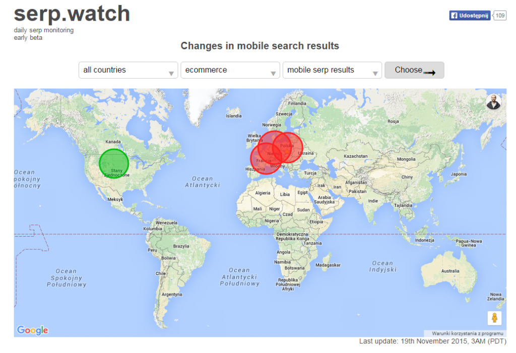SERP watch mobile 19.11.2015