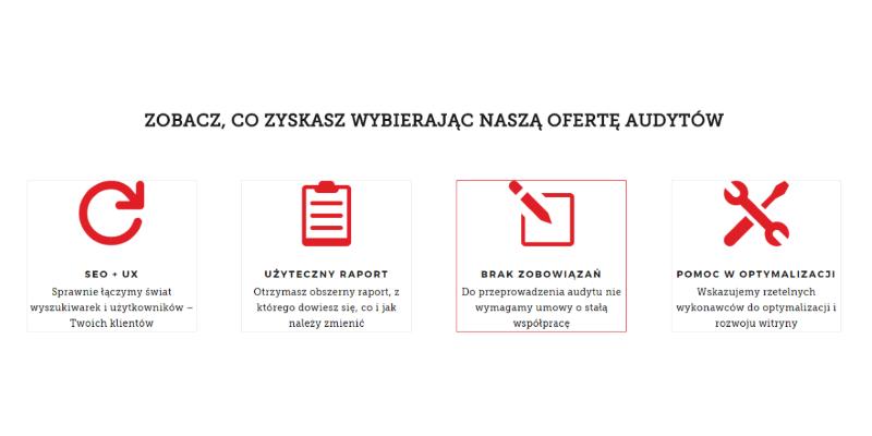 Kompleksowe oraz pojedyncze audyty SEO i UX - sprawdź nową ofertę
