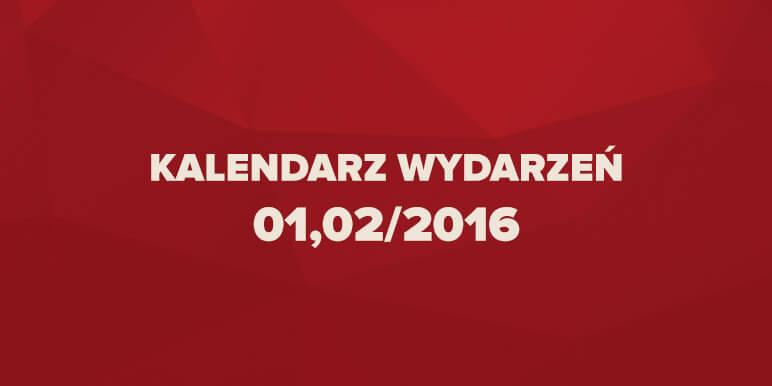 Kalendarz wydarzeń marketingowych 01,02/2016