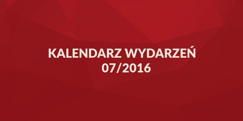 Kalendarz wydarzeń marketingowych 07/2016