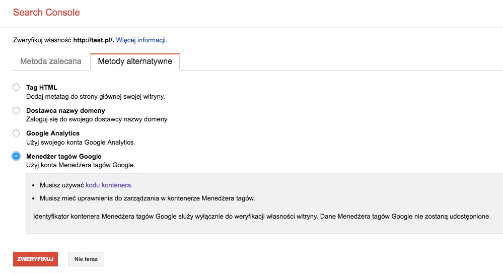 406163d05aab1 Audyt SEO - samodzielnie i za darmo z Google Serach Console