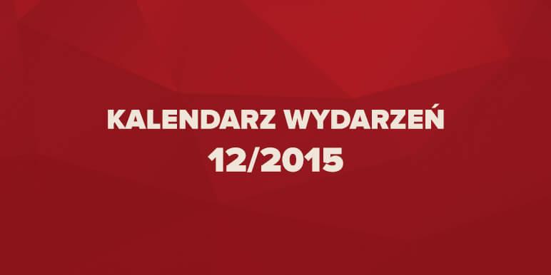 Kalendarz wydarzeń marketingowych 12/2015
