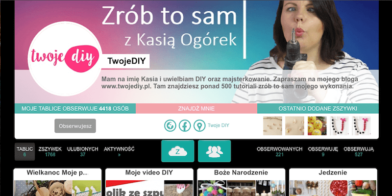 Zszywka profil DIY