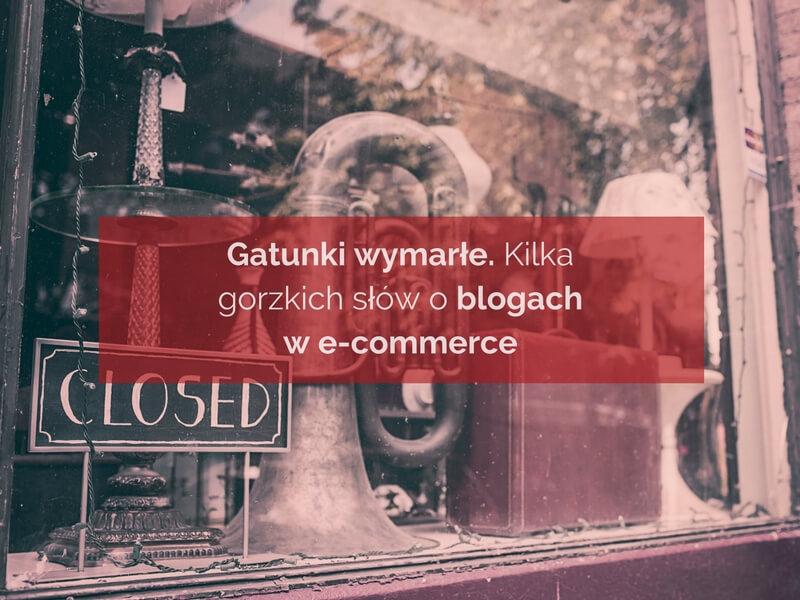 Blogi we-commerce. Kilka słów opolskiej blogosferze.