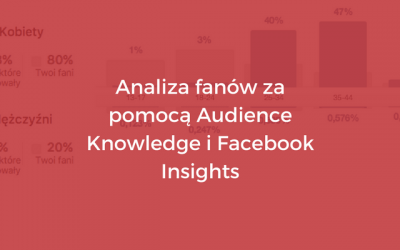 Analiza fanów za pomocą Audience Knowledge i Facebook Insights