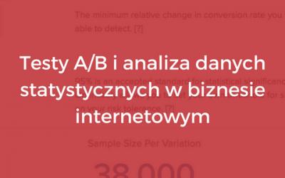 Testy A/B ianaliza danych statystycznych wbiznesie internetowym
